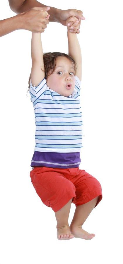 Aprendizagem do bebê fotos de stock royalty free