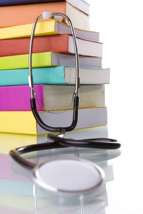 Aprendizaje de la medicina foto de archivo