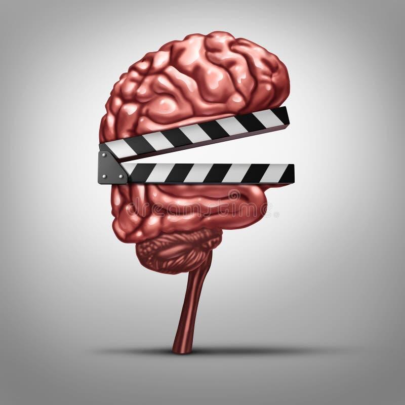 Aprendizaje del vídeo stock de ilustración