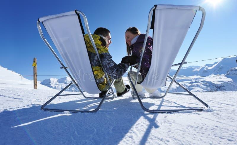 Download Apres ski at mountains stock image. Image of recreational - 24850961