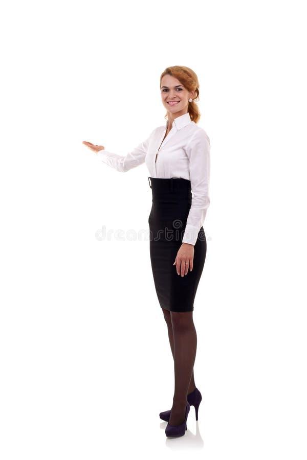 Download Apresentação Da Mulher De Negócio Imagem de Stock - Imagem de escuro, apresentar: 16865999
