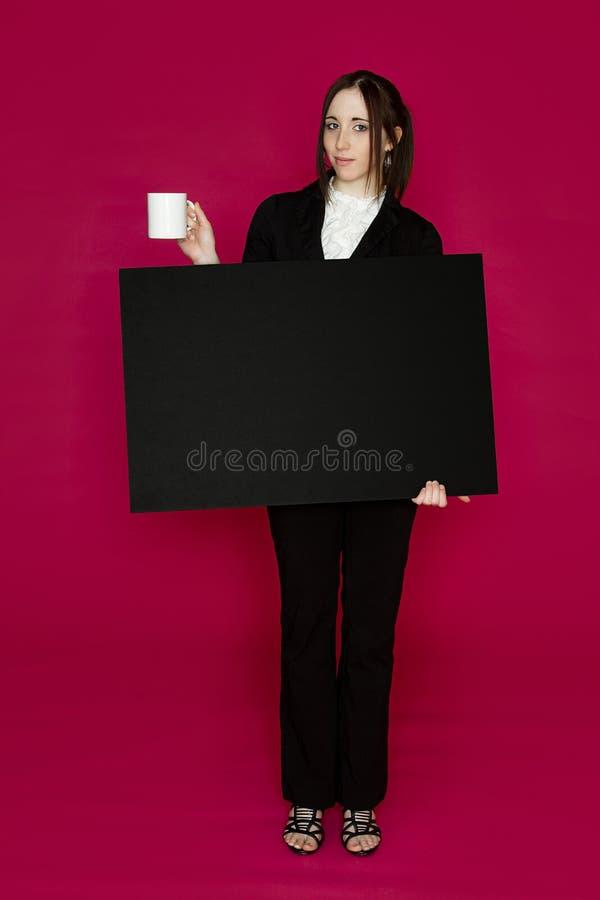 Apresentação do café fotos de stock