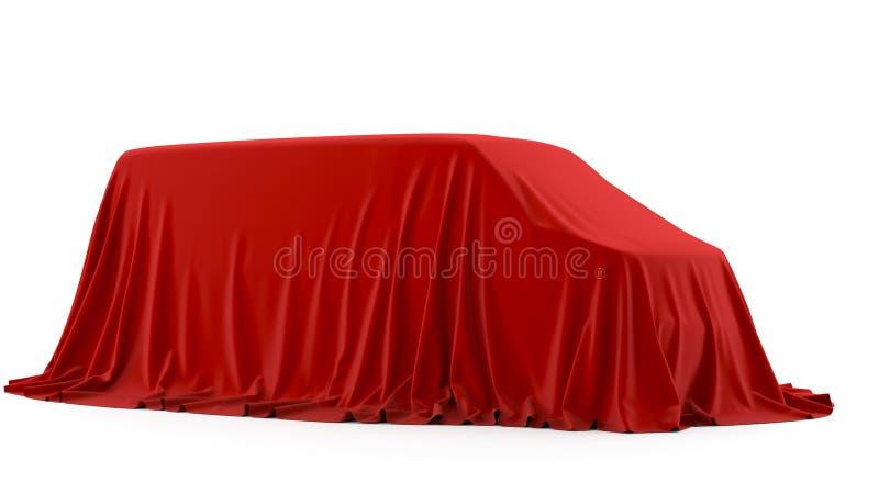 Apresentação do carro ilustração royalty free