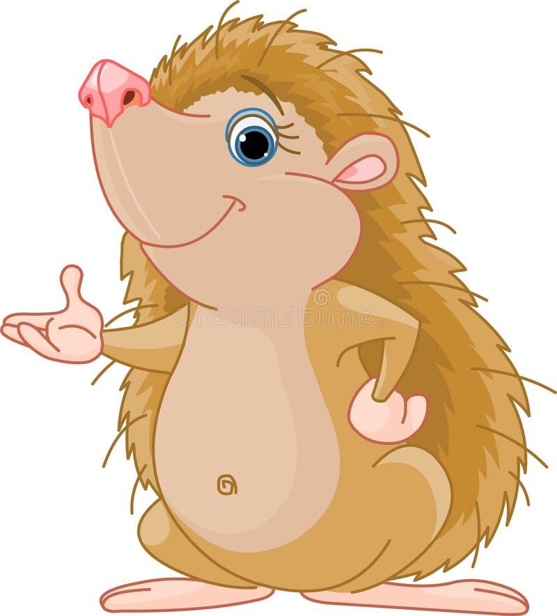 Apresentação do Hedgehog ilustração do vetor