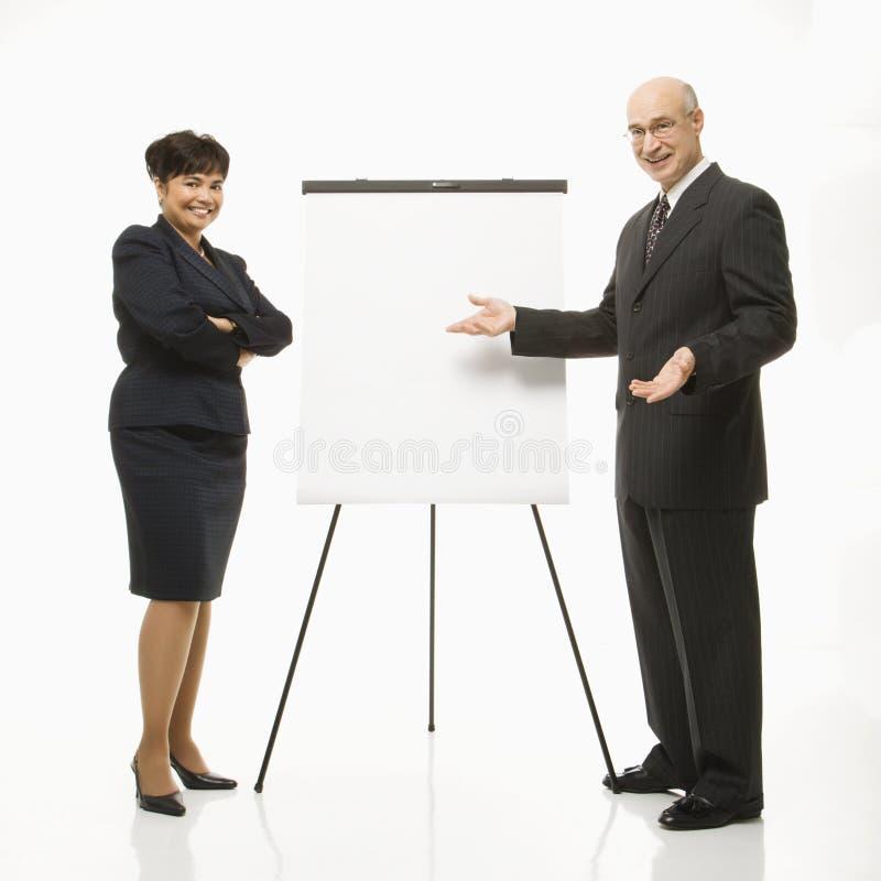 Apresentação do negócio imagem de stock royalty free