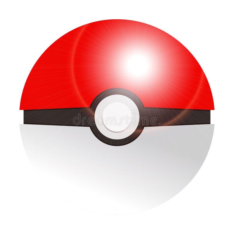 A apresentação Pokemon vai jogo em Europa Kiev, Ucrânia julho de 2016 ilustração royalty free