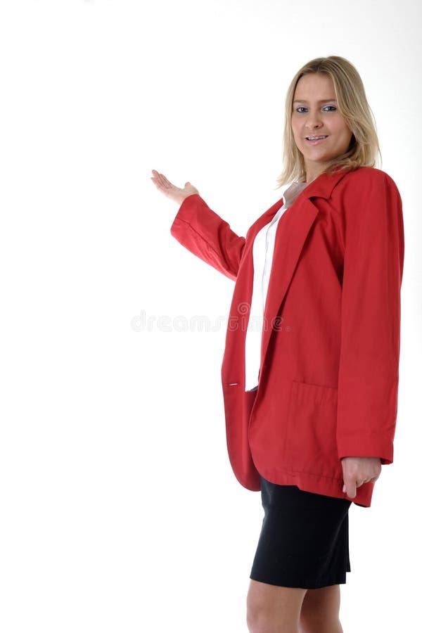 Apresentar-se da mulher imagem de stock royalty free