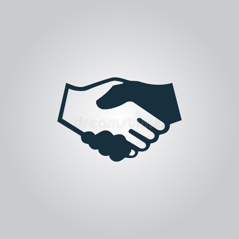 Apretón de manos Fondo para el negocio y las finanzas imágenes de archivo libres de regalías