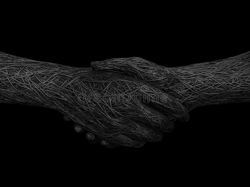 Apretón de manos sólido