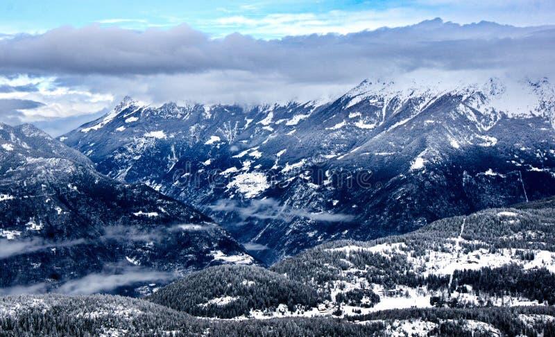Aprica, Άλπεις της Ιταλίας στοκ εικόνες με δικαίωμα ελεύθερης χρήσης