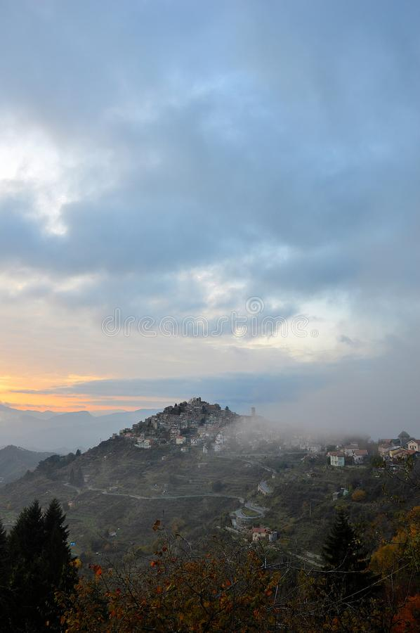 Apricale image stock
