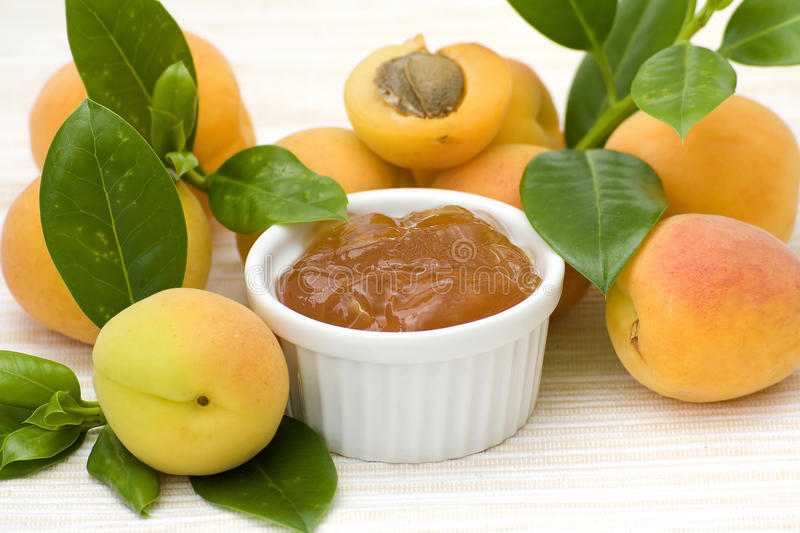 Download Apricot jam stock image. Image of detail, sweet, macro - 11654703