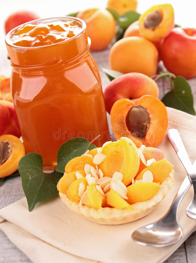 Download Apricot jam stock photo. Image of shot, studio, jelly - 25252398