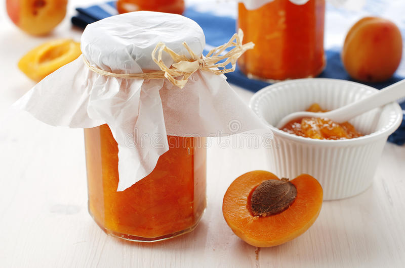 Download Apricot jam stock photo. Image of health, nobody, gastronomy - 25299736
