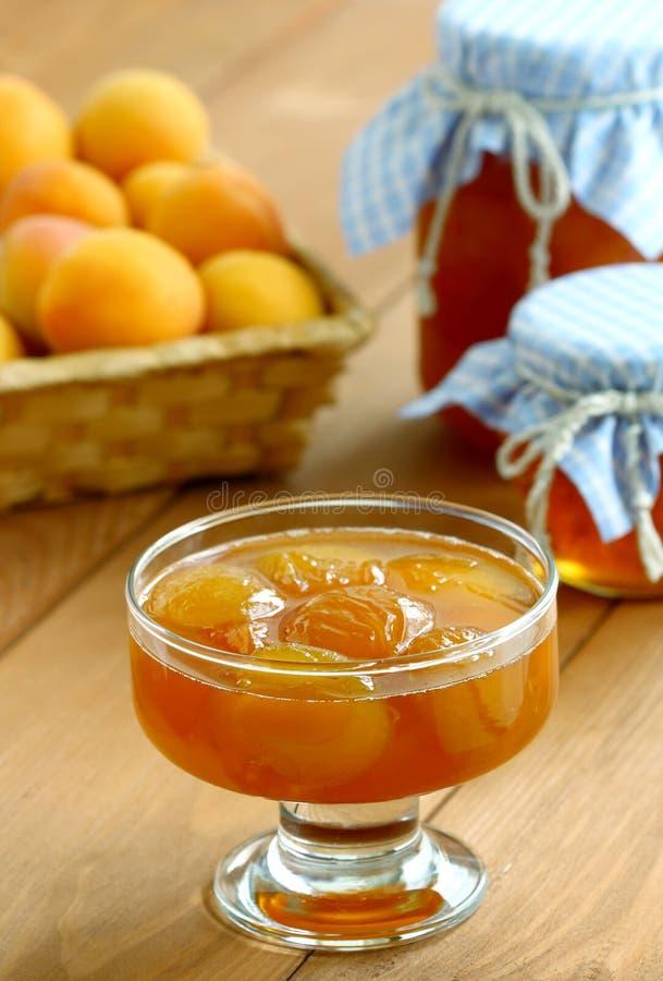 Apricot jam stock photos