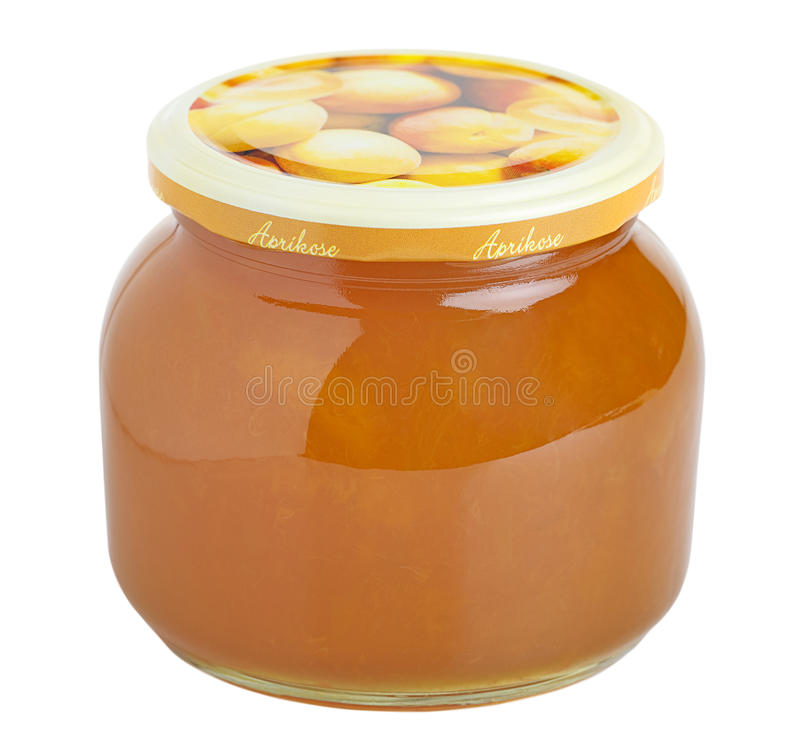 Download Apricot jam glass stock photo. Image of remote, food - 29606468