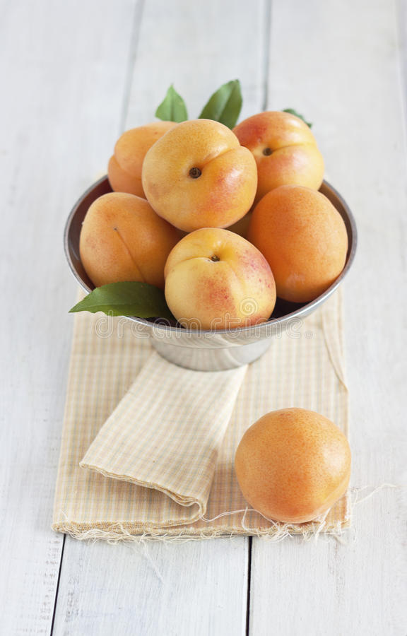 Download Apricots stock image. Image of style, leaf, country, organic - 24990087