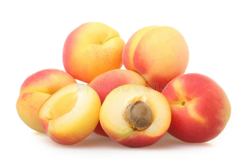 Download Apricots stock image. Image of delicious, group, slice - 25601619
