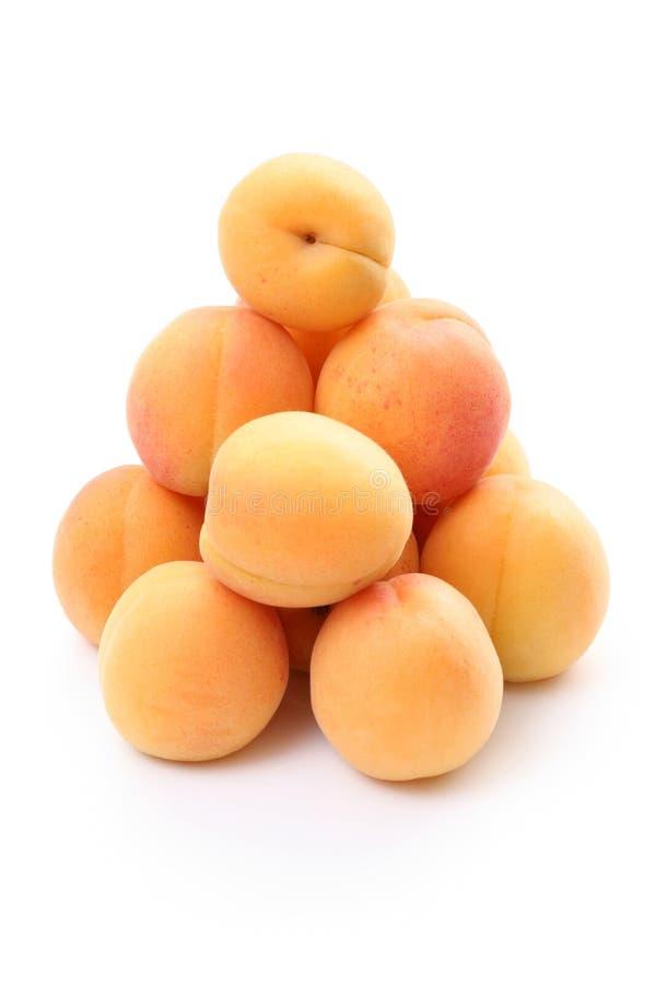 Apricots royalty free stock photos