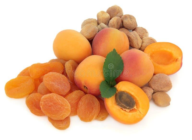 Aprikosen-Frucht lizenzfreie stockfotos
