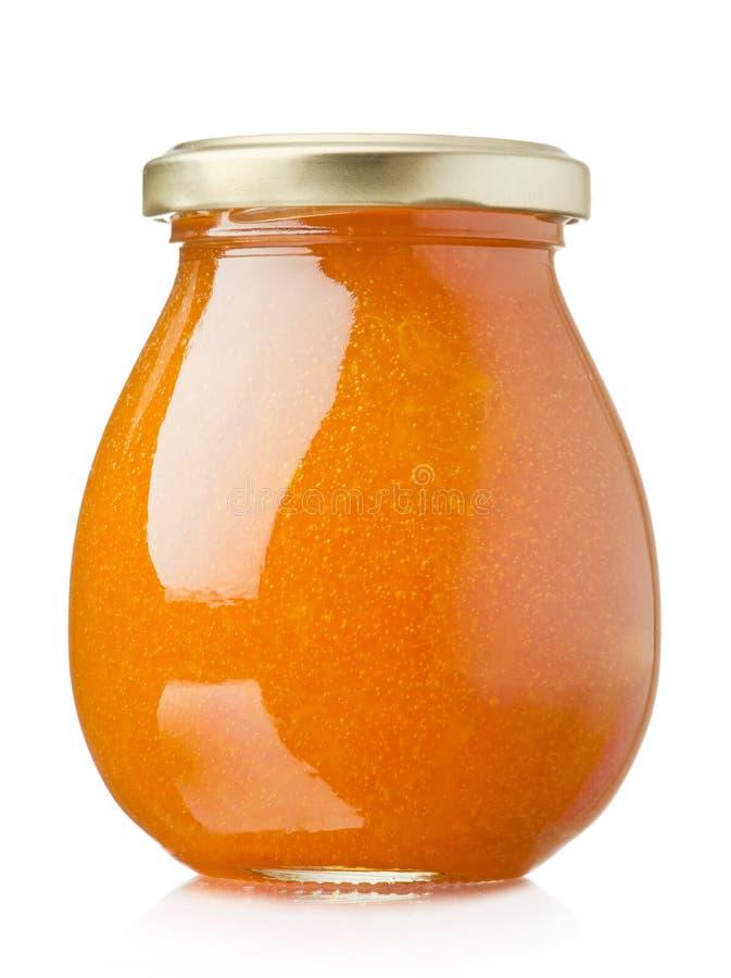 Aprikosenmarmelade stockbild