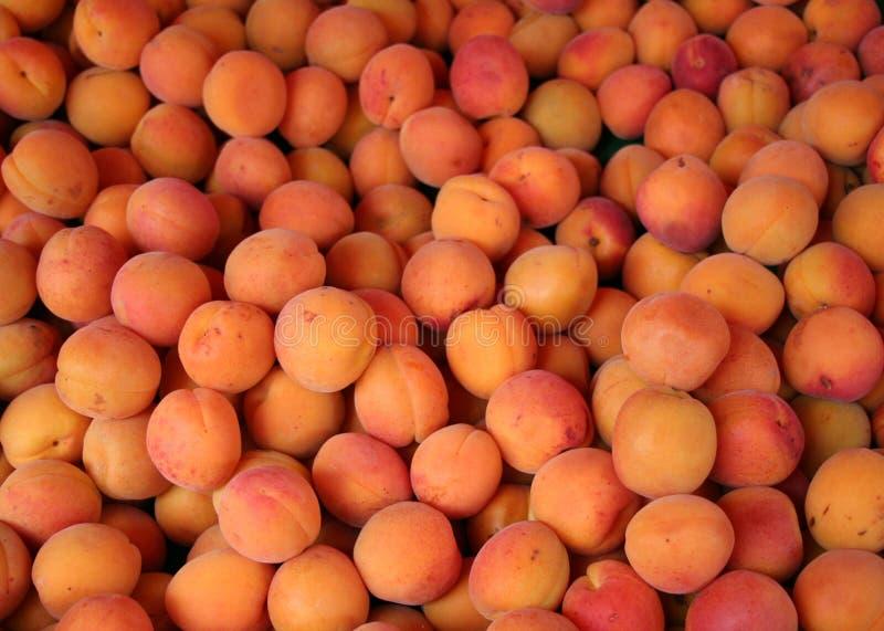 Download Aprikosförsäljning fotografering för bildbyråer. Bild av frukt - 225259