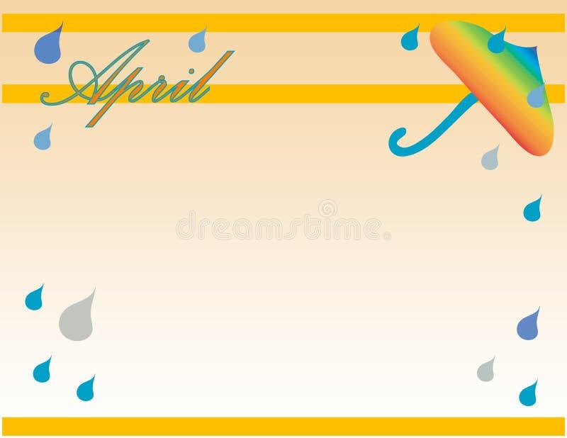 Download April bakgrund stock illustrationer. Illustration av vatten - 505229