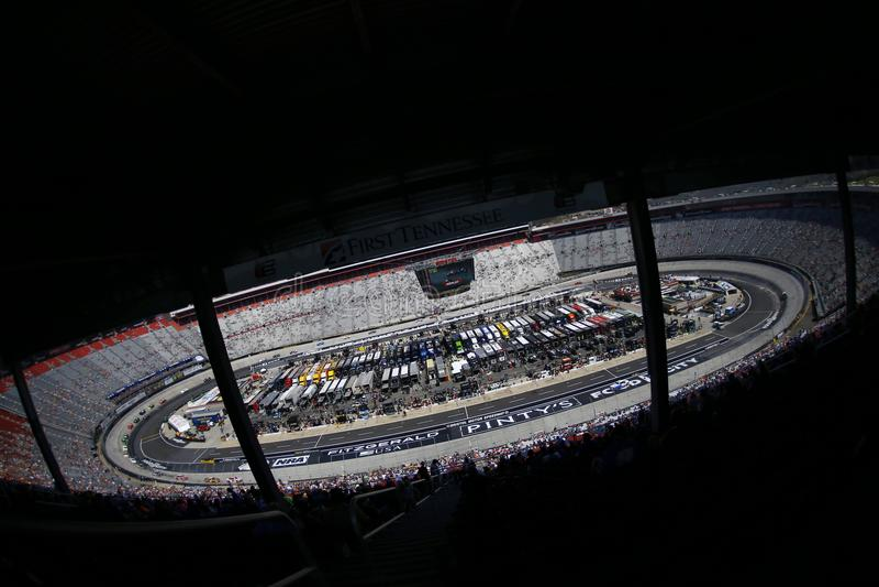 NASCAR: April 14 Fitzgerald Glider Kits 300 stock images