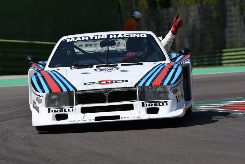 21 April 2018  Emanuele Pirro Drive Lancia Martini Beta