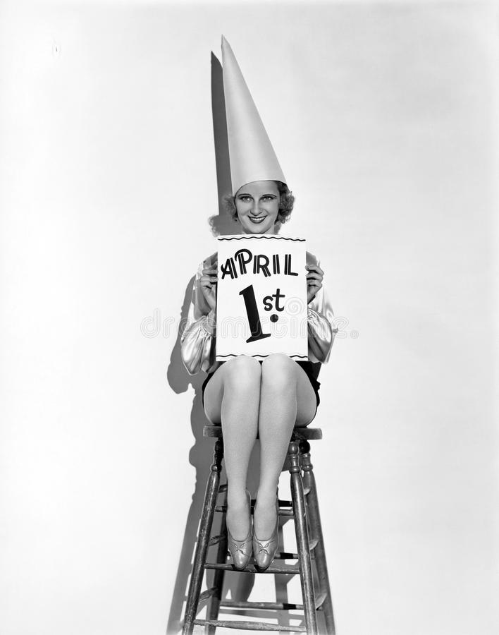 APRIL FOOL'S DAY royalty free stock image