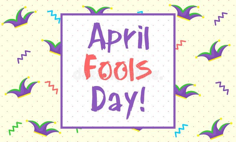 April Fools Day - Vector vector illustration