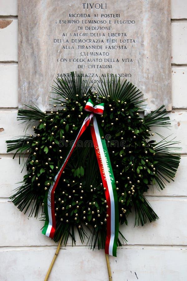 25. April 2019: Italienischer Tag der Befreiung stockbilder