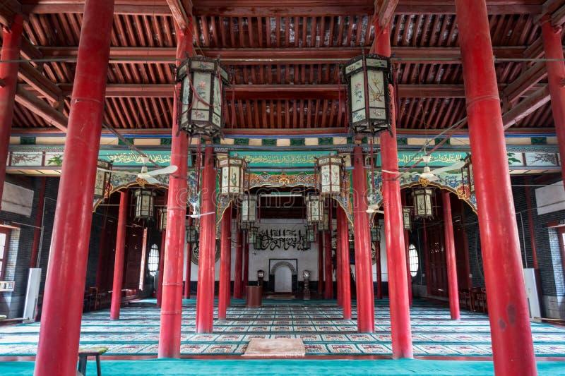 April 2015 - Jinan, China - Qingzhen-de moskee van Si in Jinan royalty-vrije stock foto