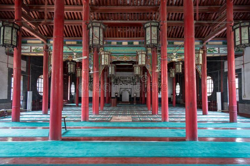 April 2015 - Jinan, China - Qingzhen-de moskee van Si in Jinan stock fotografie