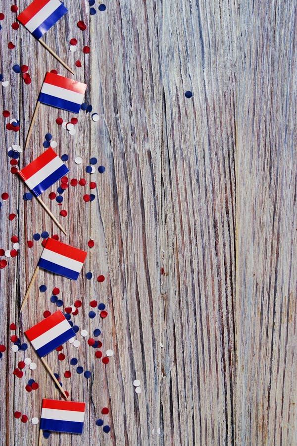 30. April Konzeptunabhängigkeitstag von den Niederlanden und von niederländischem Nationaltag Kopieren Sie Platz stockfotografie