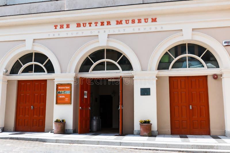 29. April 2018 Korken, Irland - Cork Butter Museum lizenzfreie stockfotos