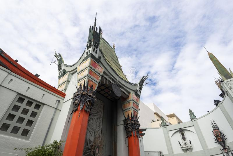 28 april, 2019 - Los Angeles, Californië, de V.S.: TLC Chinese Theater voorpoort, Hollywood-Boulevard, La, de V.S. royalty-vrije stock afbeeldingen