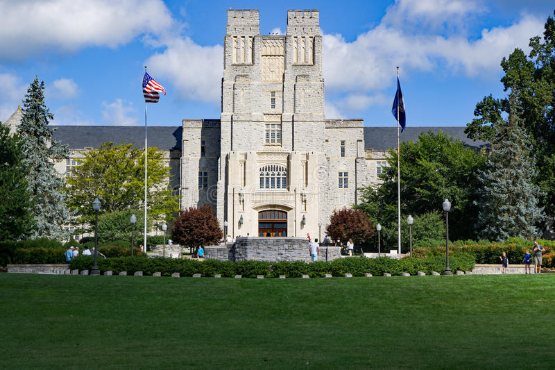 """April Memorial†16th  - Virginia technika, Blacksburg, Virginia, usa zdjęcia royalty free"