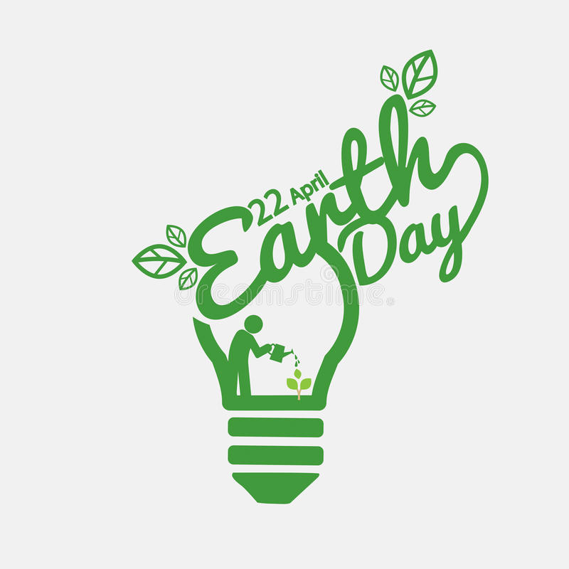 April 22nd Earth Day. April 22nd Earth Day Vector Illustration vector illustration
