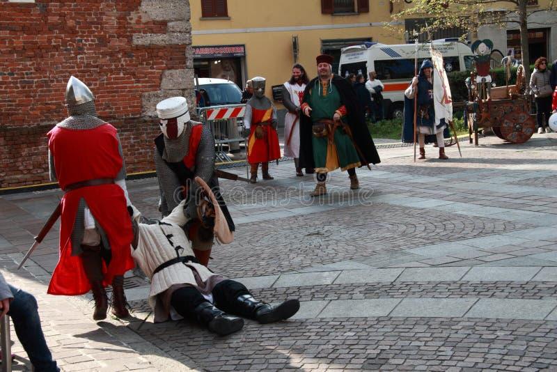 11/15 April 2019 - 400th edition of the `Fiera delle Palme` Melzo Italy.  stock photos