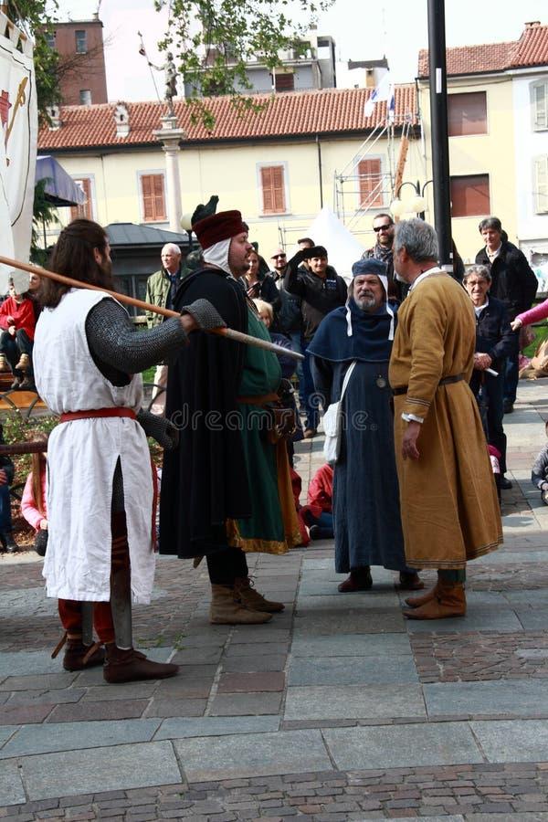 11/15 April 2019 - 400th edition of the `Fiera delle Palme` Melzo Italy.  stock photography
