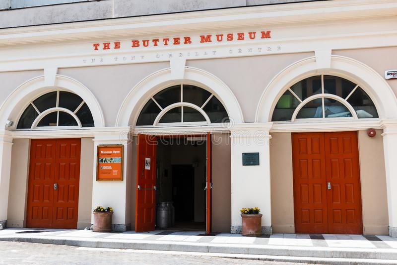 April 29th, 2018, kork, Irland - Cork Butter Museum royaltyfria foton