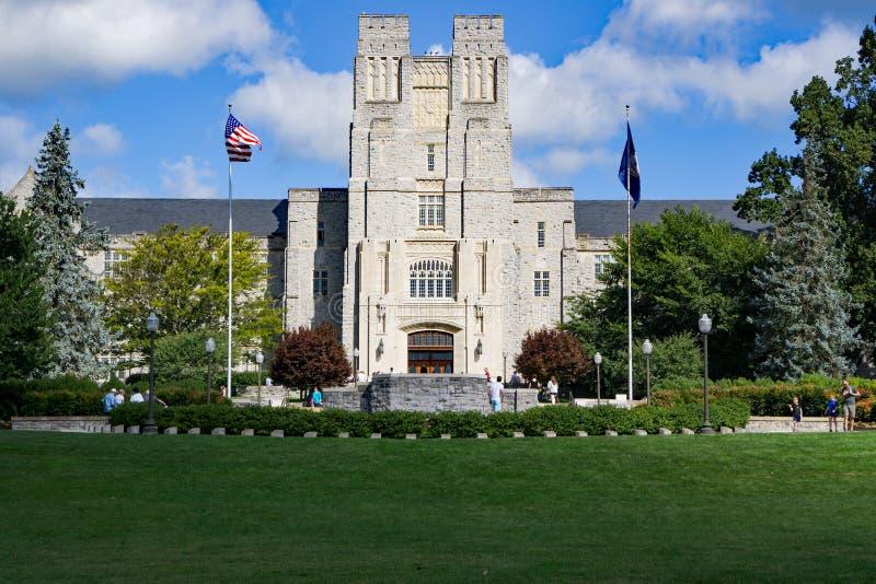 """""""April 16th Memorial"""" - Virginia Tech, Blacksburg, Virginia, USA. Blacksburg, VA – August 5th: The """"April 16th Memorial"""" to the royalty free stock photos"""