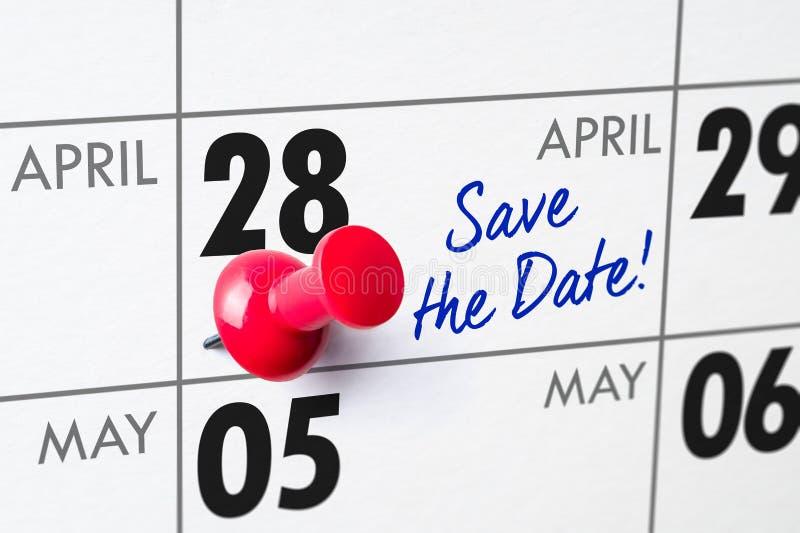 28 aprile immagini stock