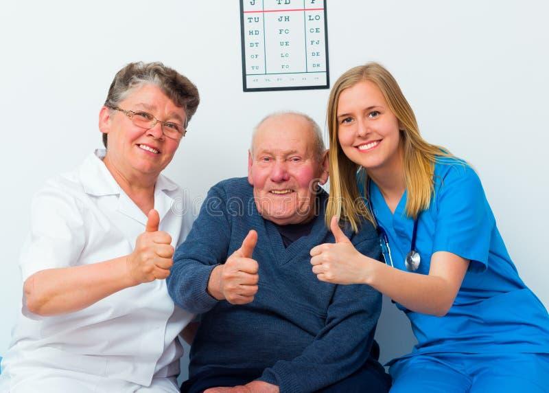 Aprobaty Dla Zdrowego Starszego życia zdjęcia stock