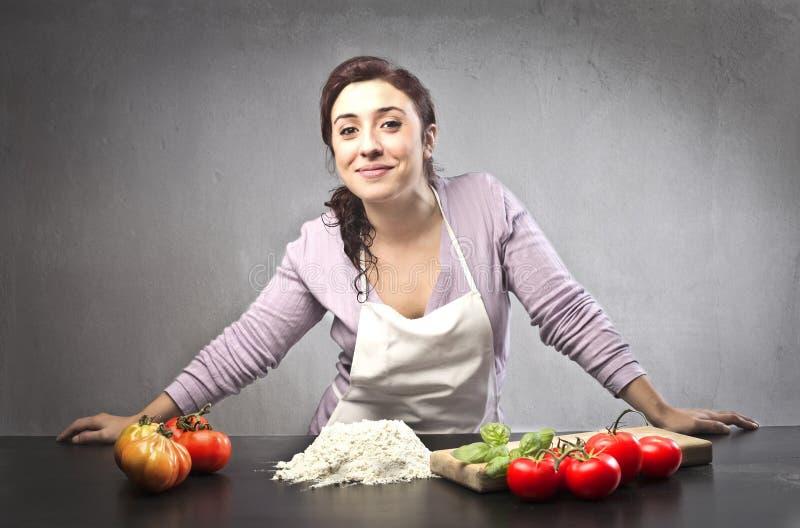 Apronte Para Cozinhar Foto de Stock