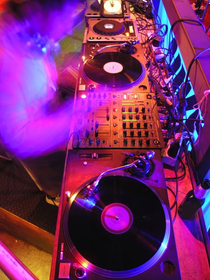Apronte para DJ foto de stock