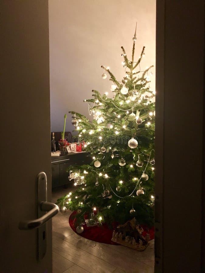 Apronte para o Natal fotografia de stock royalty free