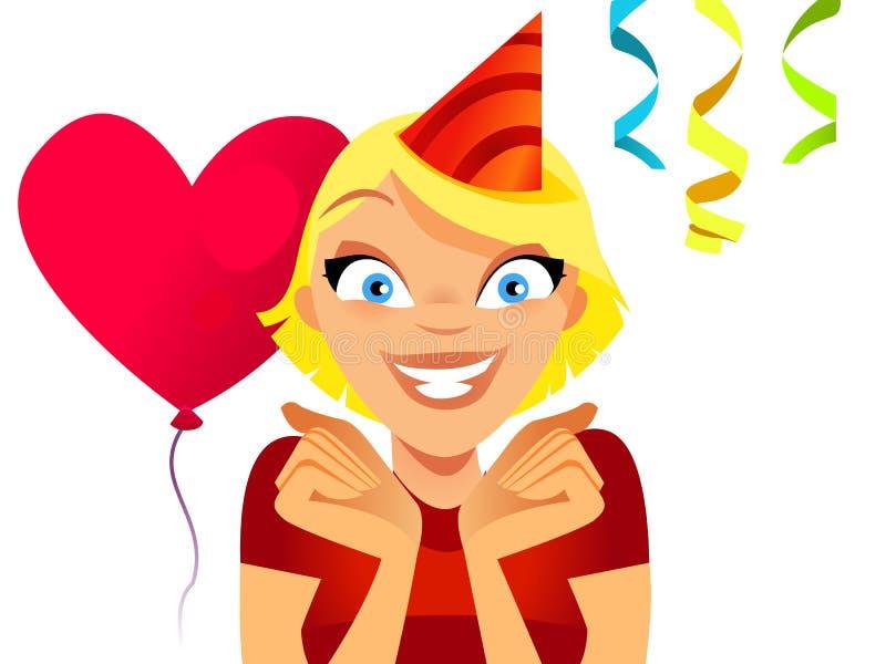 Apronte para party ilustração royalty free
