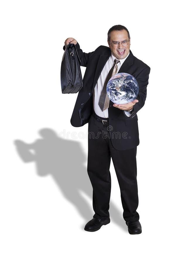 Apronte para tomar no mundo imagem de stock royalty free